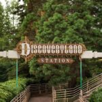 Disneyland Railroad - Discoveryland Station
