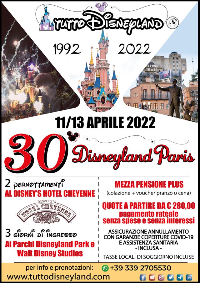 Viaggio Disneyland Paris Aprile 2022