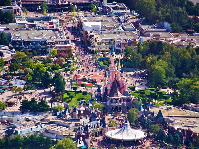 Vista Aerea Parco Disneyland Paris