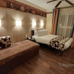 Le camere standard del Disney's Hotel Cheyenne
